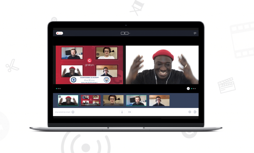 Grabyo adds improved multi-person video support, green rooms and scene snapshots