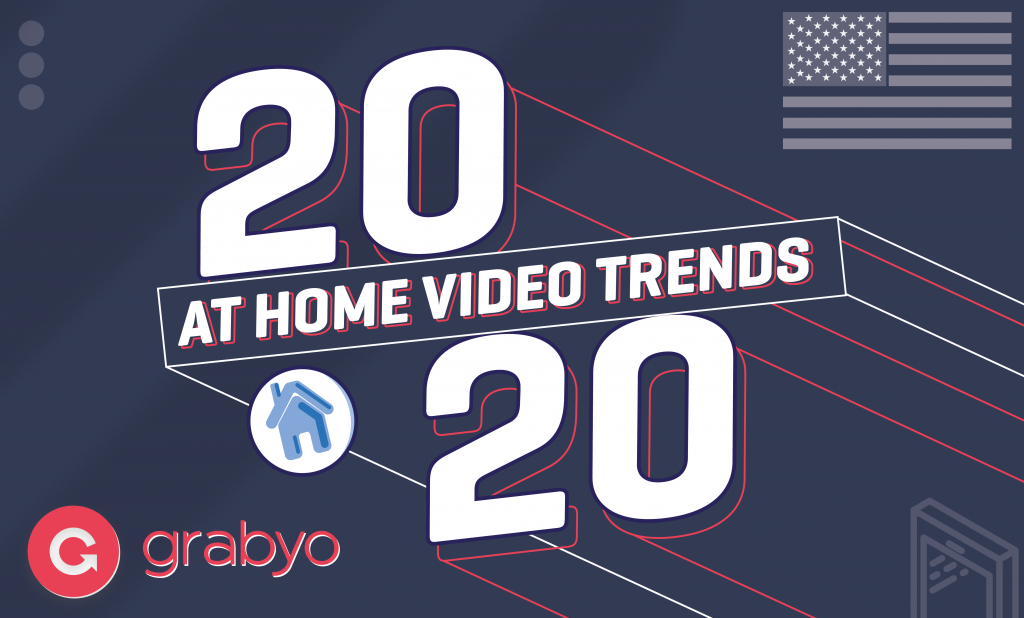 Grabyo At Home Video Trends (US) 2020 title