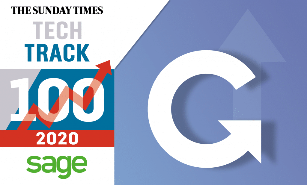 Grabyo features in the 2020 Sunday Times Tech Track 100!